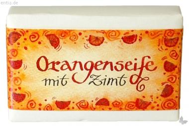 Orange-Zimt-Seife - Blockseife
