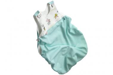 Nabebi-Öko-Babyschlafsack, blau