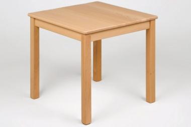 Kindermöbel Tisch quadratisch, Buche