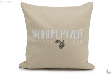 Herbalind Wohlfühl-Zirbenkissen 25x25cm