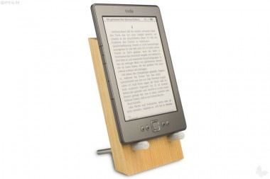 Universal-Halter für eBook-Reader, iPad®, Tablets etc.,  Buche