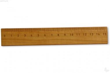 Lineal Birnbaumholz 15cm