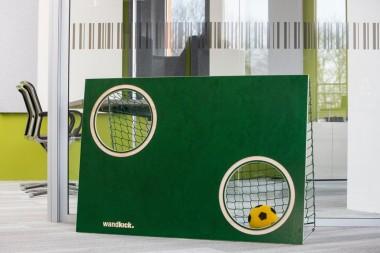 Miniball-Torwand Komplettset  sattgrün