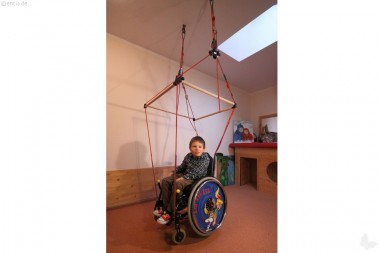 Mobile Rollstuhlschaukel