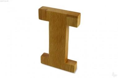 Holz-Buchstabe I