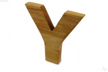 Holz-Buchstabe Y