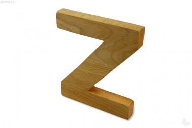 Holz-Buchstabe Z