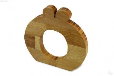 Holz-Buchstabe Ö (Umlaut)