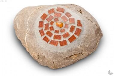 Steinkunst Schnecke XL