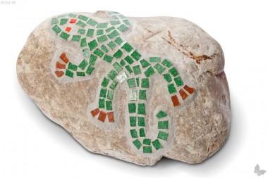 Steinkunst Gecko L