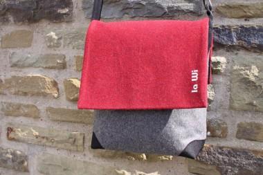 Loden-Damentasche