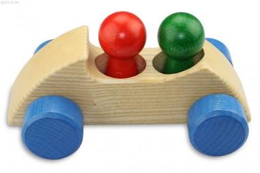 Holzauto Zweisitzer