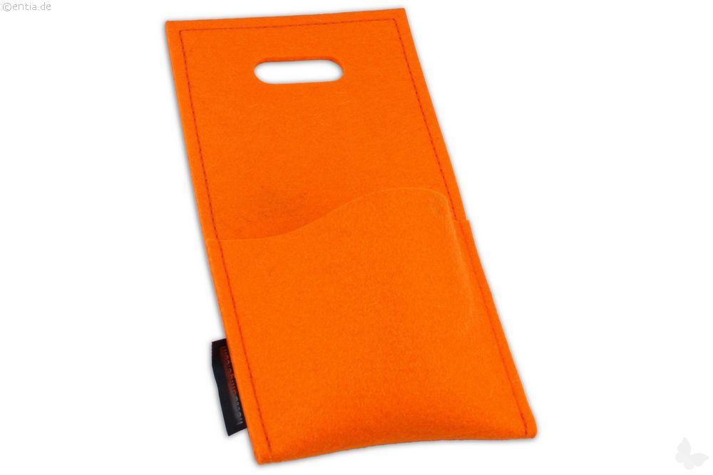Handy-Ladetasche orange