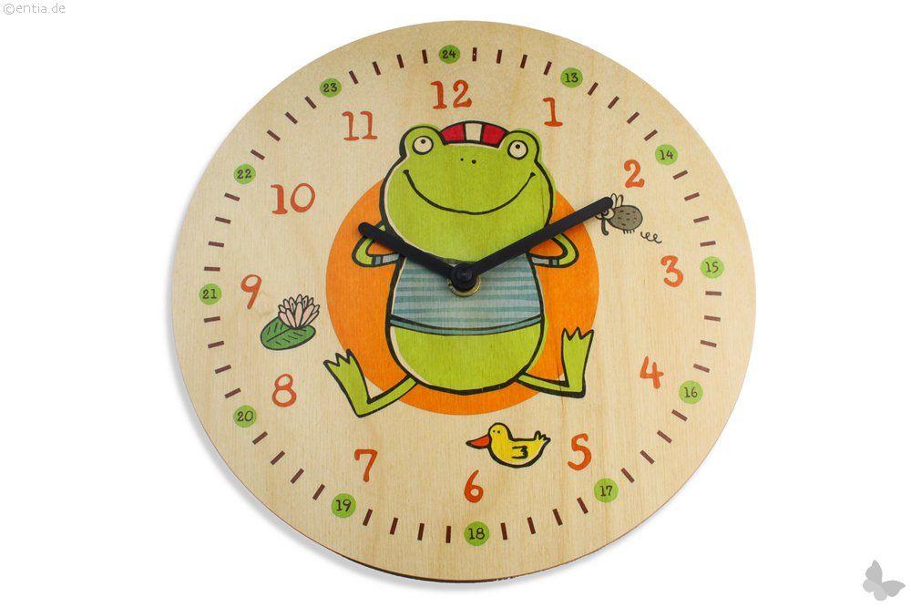 Quarzuhr Frosch