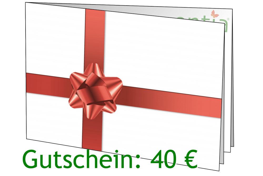 Geschenkgutschein 40 Euro