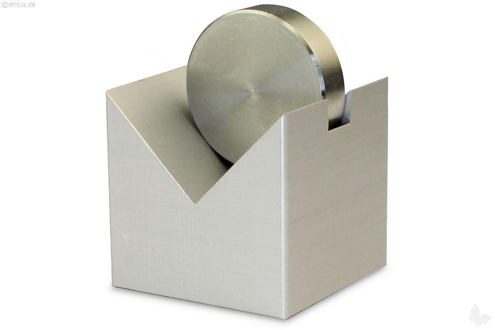 Papierhalter Aluminium natur