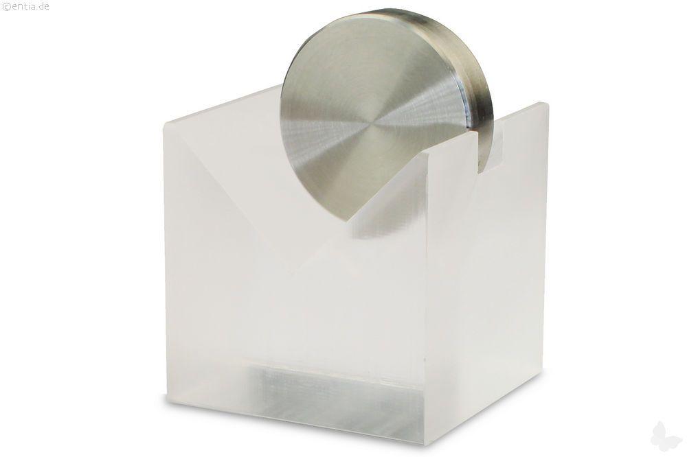 Papierhalter Acryl klar