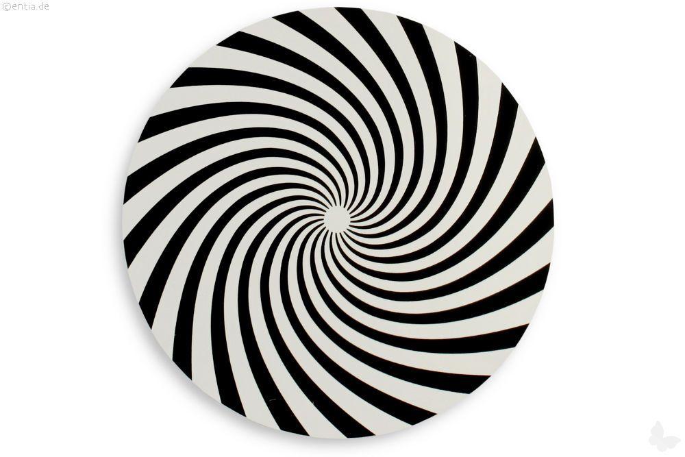 Kreisel Drehscheibe Spirale