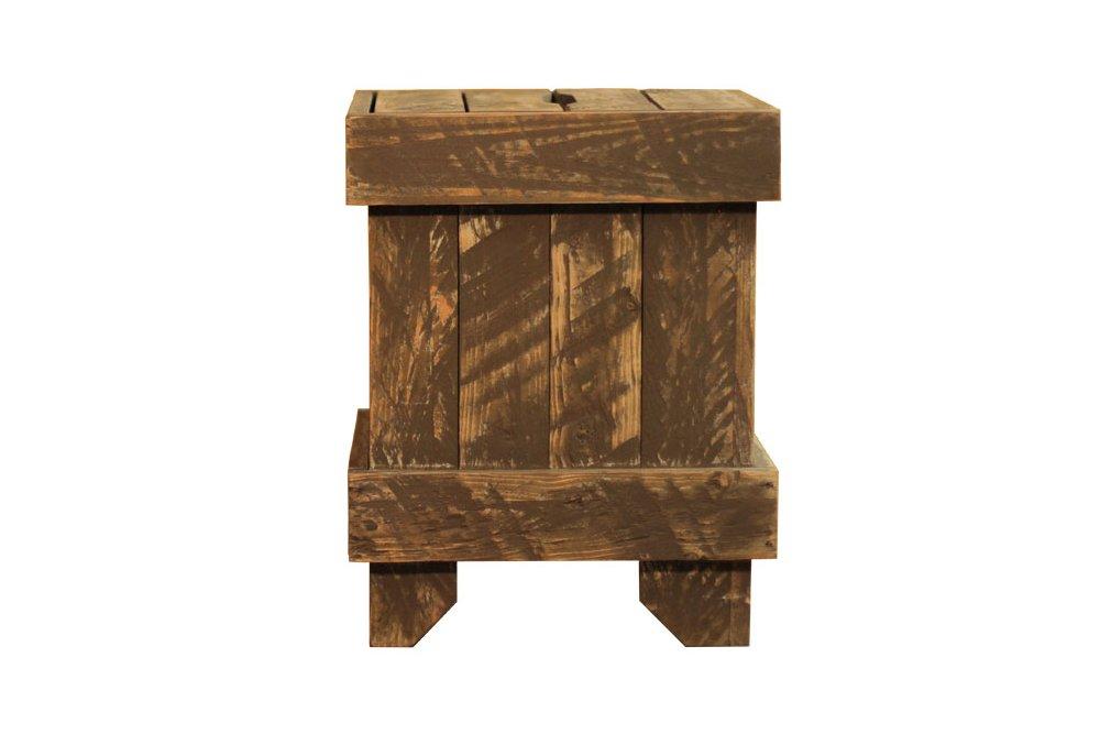 hocker niehl schiffschraubenbraun nachhaltiges aus sozialen manufakturen. Black Bedroom Furniture Sets. Home Design Ideas