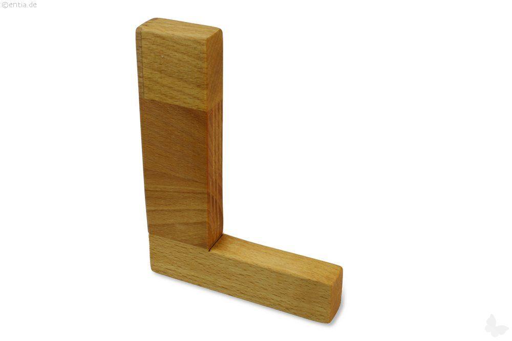 Holz-Buchstabe L