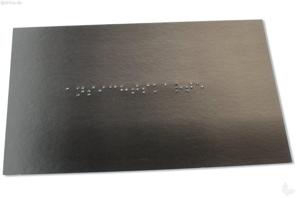 Braille-Karte