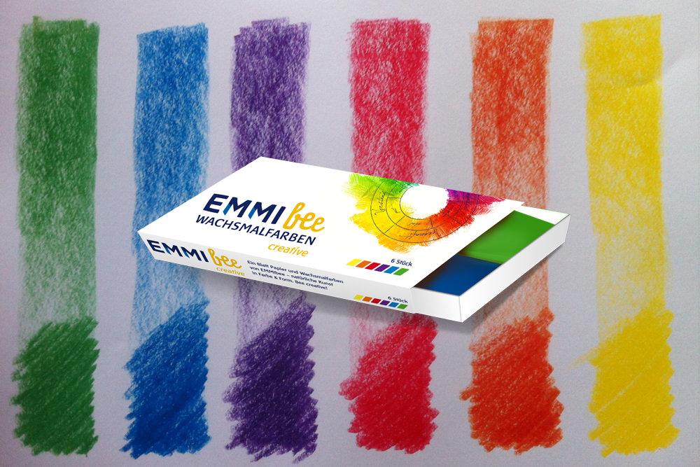 Emmibee Wachsmalfarbe Goethefarben