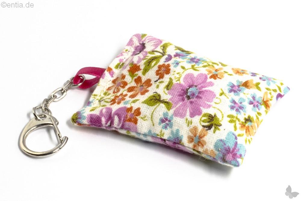 Schlüsselanhänger mit Lavendelkissen