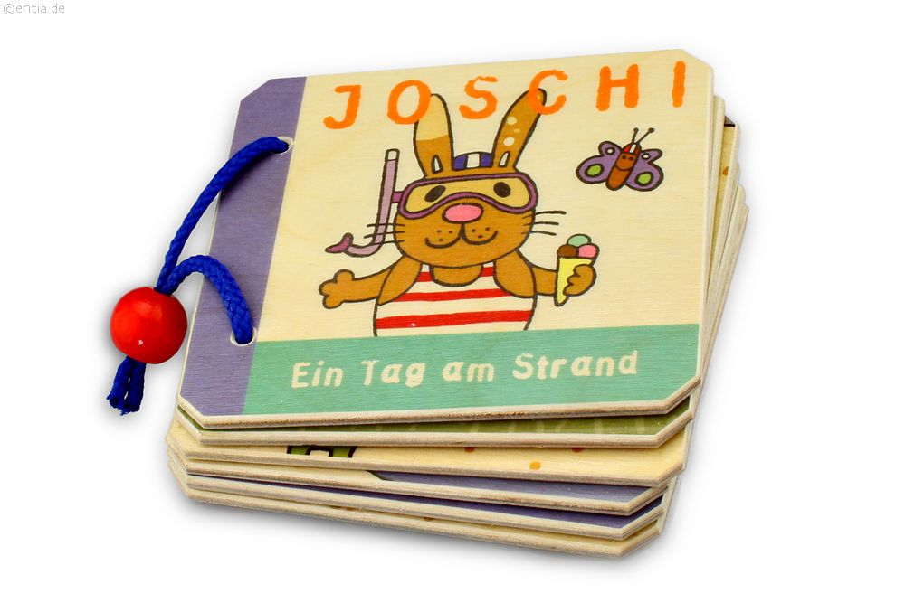 kinderbuch joschi ein tag am strand nachhaltiges aus sozialen manufakturen. Black Bedroom Furniture Sets. Home Design Ideas