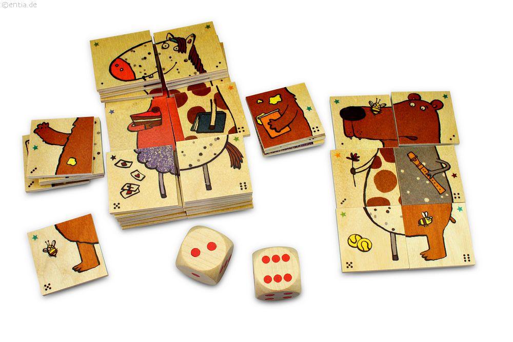 Das lustige Tier-Mix-Spiel, 48 Teile