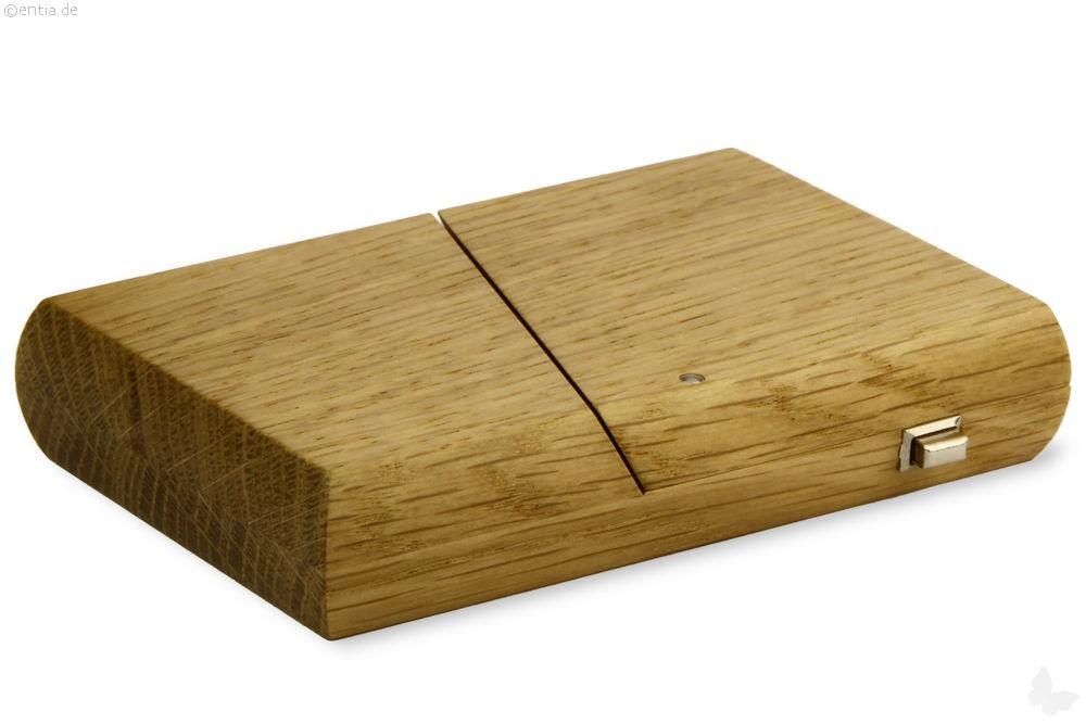 visitenkarten etui eiche nachhaltiges aus sozialen. Black Bedroom Furniture Sets. Home Design Ideas