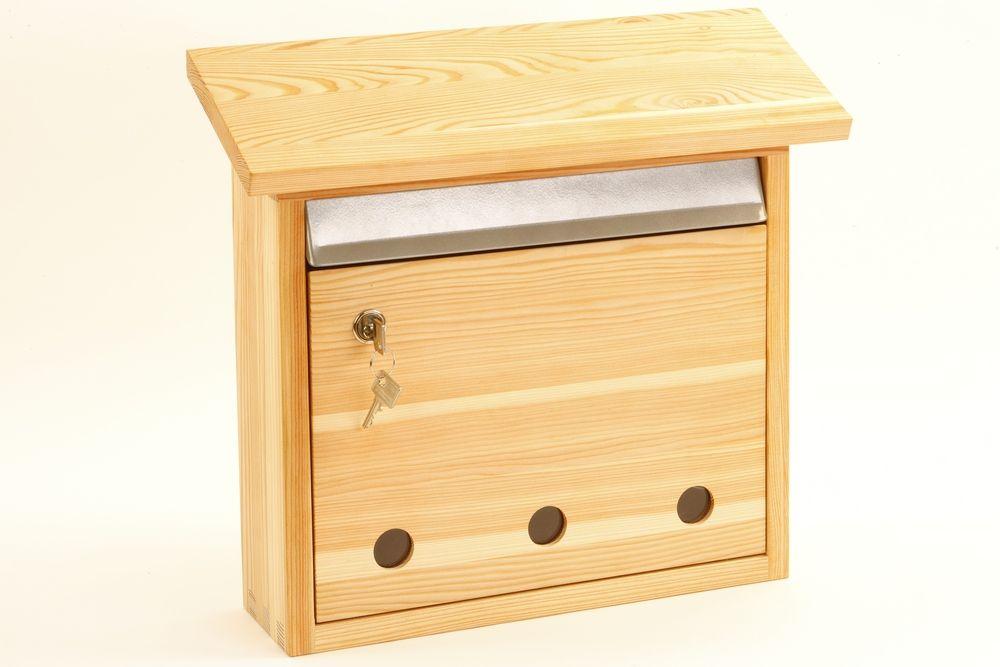 Briefkasten Lärchenholz Nachhaltiges Aus Sozialen Manufakturen