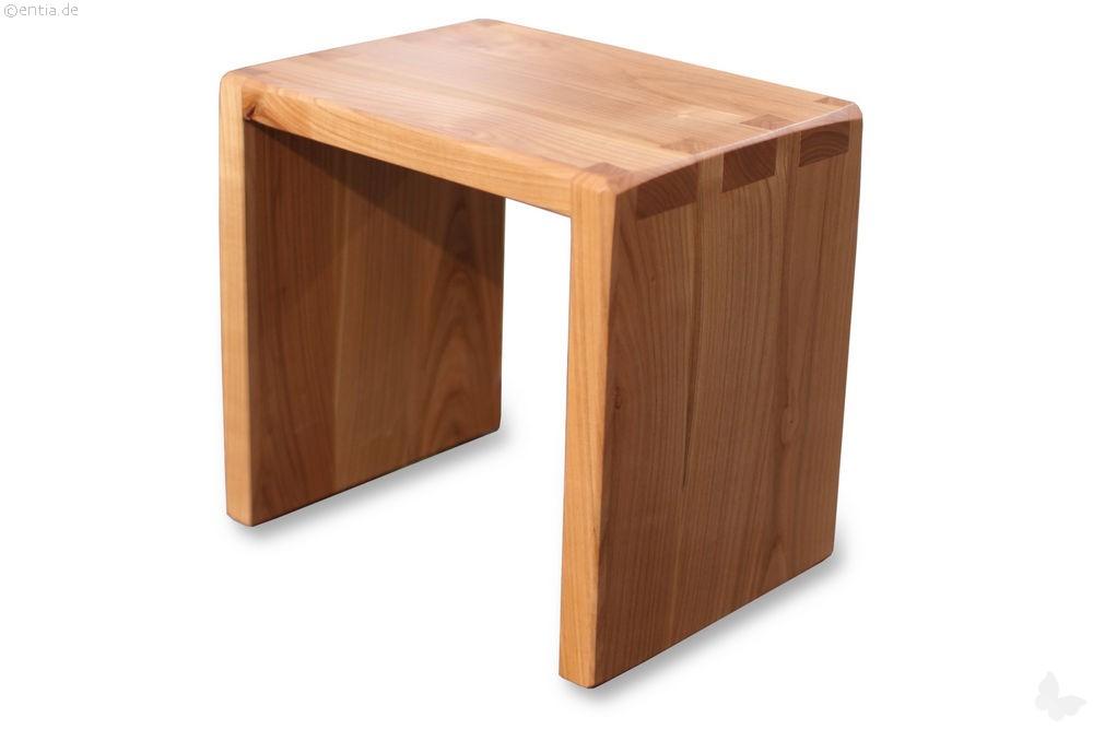 hocker kirsche 31cm hoch nachhaltiges aus sozialen manufakturen. Black Bedroom Furniture Sets. Home Design Ideas