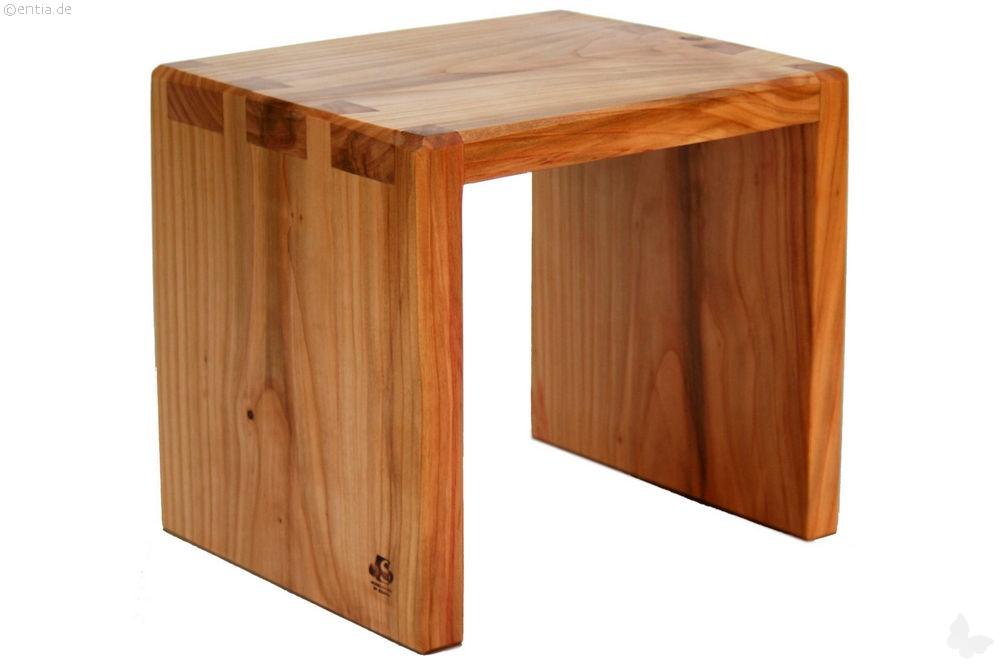 hocker kirsche 27cm hoch nachhaltiges aus sozialen manufakturen. Black Bedroom Furniture Sets. Home Design Ideas