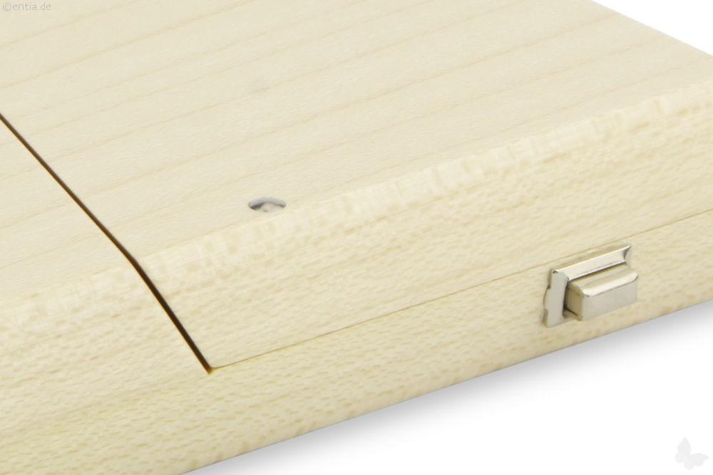 visitenkarten etui ahorn lackiert nachhaltiges aus. Black Bedroom Furniture Sets. Home Design Ideas