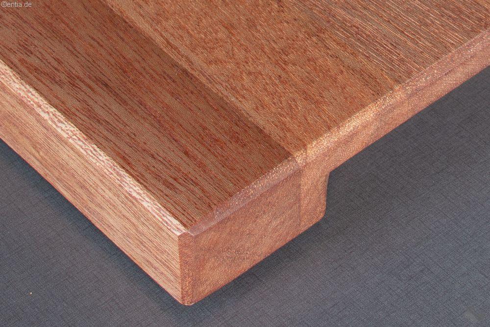 Schneidebrett aus stilvollem Mahagoni-Holz | Nachhaltiges aus ...