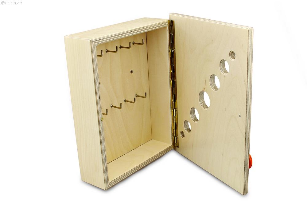 Schlüsselschrank Holz | Nachhaltiges aus sozialen Manufakturen