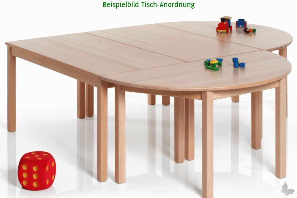 kinderm bel tisch rechteck buche nachhaltiges aus sozialen manufakturen. Black Bedroom Furniture Sets. Home Design Ideas